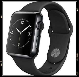 Apple iWatch Black Strap
