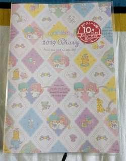 🚚 Little Twin Stars schedule book/diary 2019