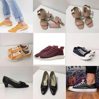 Sneakers Heels Sandals