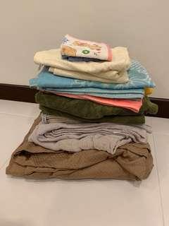 #Blessing Assorted Towels/Blankets etc