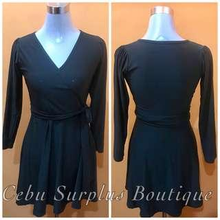 Dark Gray 3/4 Dress