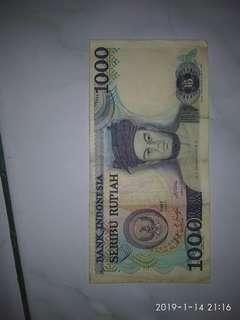 uang lama 100perak dan 1000