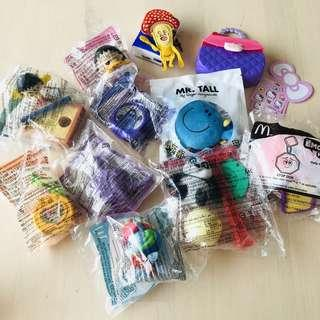 Toys in total 10pcs