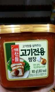 🚚 CJ 韓式烤肉蔬菜用沾醬 900G-吉兒好市多COSTCO代購