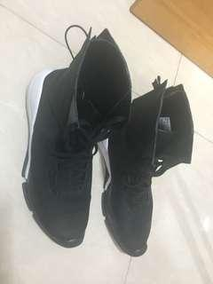 Y3 adidas high cut shoes (100% real) size 10.5 US