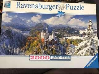 Jigsaw Puzzle 2000 pieces