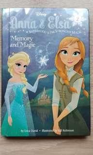 Disney Anna & Elsa memory and magic Frozen