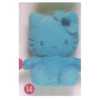 KITTY-14-海藍寶,勇氣之石,香港麥當勞HELLO KITTY,裝透明膠合,尺寸-8.2X6.5CM