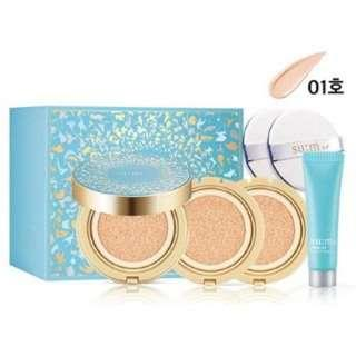 🚚 su:m37 - Water-Full CC Cushion Perfect Finish (2018 Holiday Edition) Special Set 4pcs