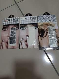 Nail foils/wraps/stickers