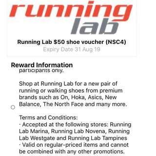 $50 Running Lab voucher at $10