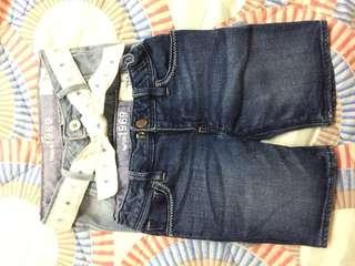 Gap女童牛仔短褲