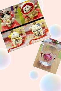CNY 2019 SALE - Fortune cats - ALL 4 PCS $60 + free gift