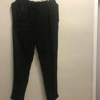 High Waisted Black Pants