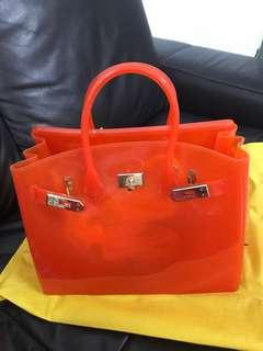 Hermes Inspired Jelly Bag