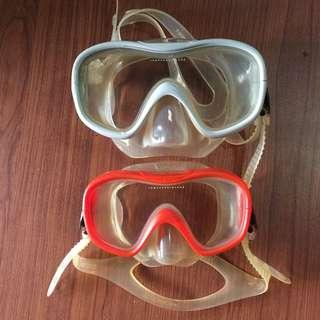 Mask Snorkling TRIBORD made in Italy