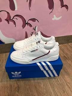 Adidas originals continental 80s White