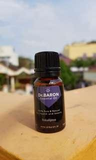 Eucalyptus Essential Oil Dr.BARON 10ml Pure and Natural