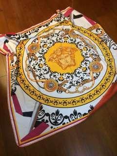 義大利versace錦狐絨毯