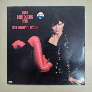 """LP: Noorkumalasari – Aku Dan Dunia Seni 12"""" Album Vinyl Record"""