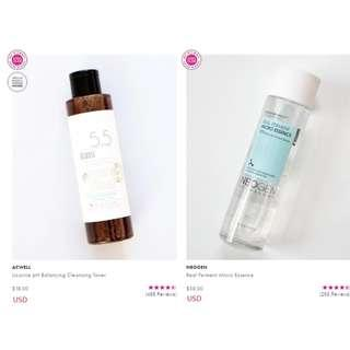 NEOGEN Real Ferment Essence + ACWELL Licorice PH Balancing Cleaning Toner (RESTOCKED)