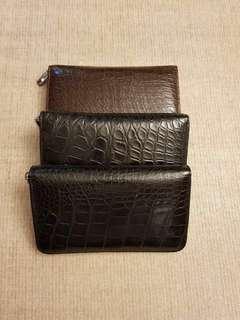 Dompet Kulit Buaya / Crocodile Skin Wallet