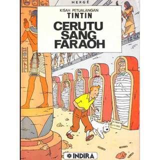 ( eBook Komik ) Tintin 01 Cerutu Sang Faraoh
