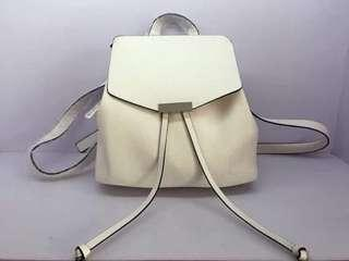 Parfois White Backpack