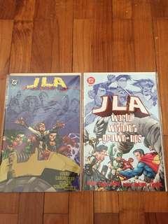 DC JLA World Without Grown-ups #1&2