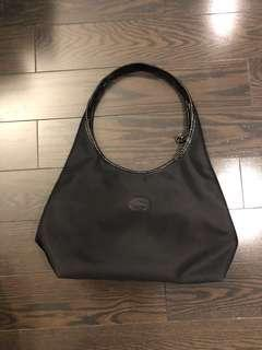 Longchamp hobo black bag