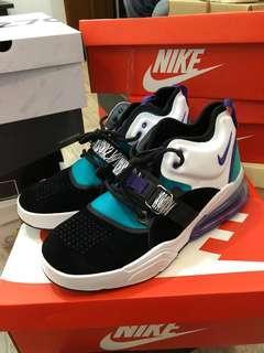 Nike airforce 270 court purple