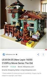 lepin - Anton house (fishing house) 2291pcs