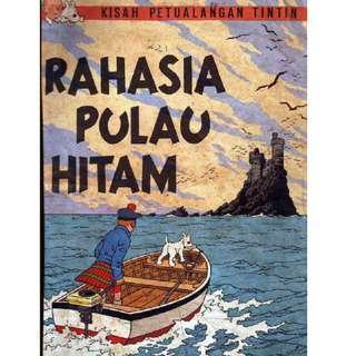 ( eBook Komik ) Tintin 02 Rahasia Pulau Hitam