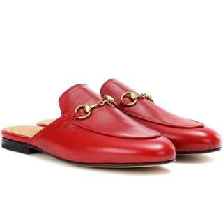 NEW Gucci Princetown Backless Loafers