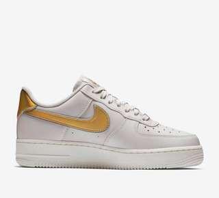 Metallic Nike Air Force 1