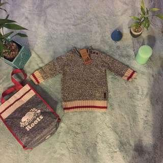 New roots baby sweater