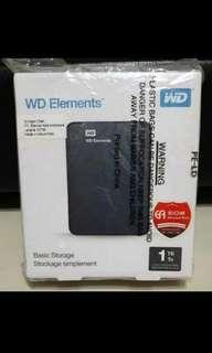 Hard Disk Portable Eksternal 1TB