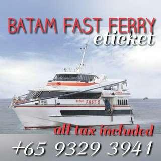 BATAMFAST FERRY TICKET PROMOTION