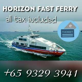HORIZON FERRY BATAM FERRY TICKET HARBOURBAY