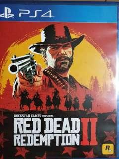 Selling ps4 red dead redemption!