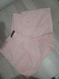 Amandas Place Pink Stripe Shorts
