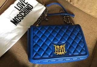 Authentic Love Moschino Quilted Crossbody Bag