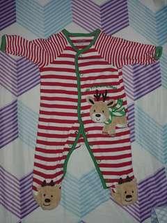 Little Me Christmas Bodysuit