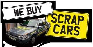 BUY YOUR SCRAP CAR HIGHER THAN YOUR PAPER VALUE ! BEST PRICE IN TOWN ! SELL YOUR CAR IN 3 HOURS GUARANTEED ! SGCARBROKERS.COM !