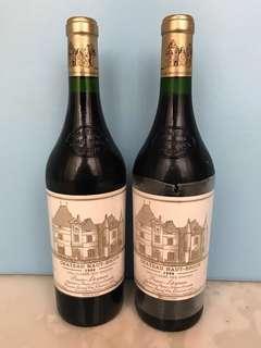 Château haut Brion 1996 紅酒