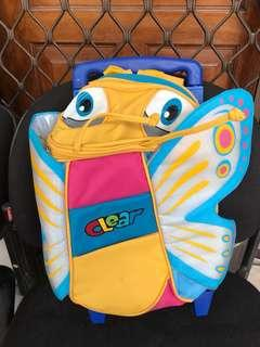 Toddler Trolley bag butterfly