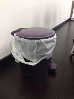 Small rubbish bin (step pedal)