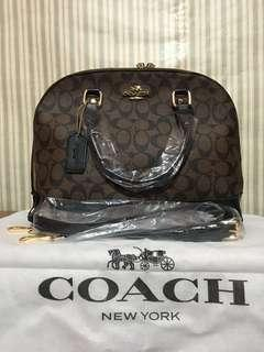 Coach Bag with Sling ( Medium Size$