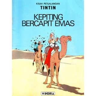 ( eBook Komik ) Tintin 04 Kepiting Bercapit Emas
