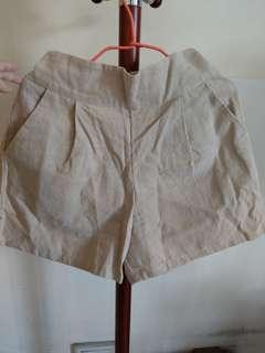🚚 正韓棉麻短褲